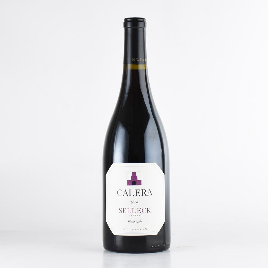 【新入荷★特別価格】[2003] カレラピノ・ノワール セレックアメリカ / カリフォルニア / 赤ワイン