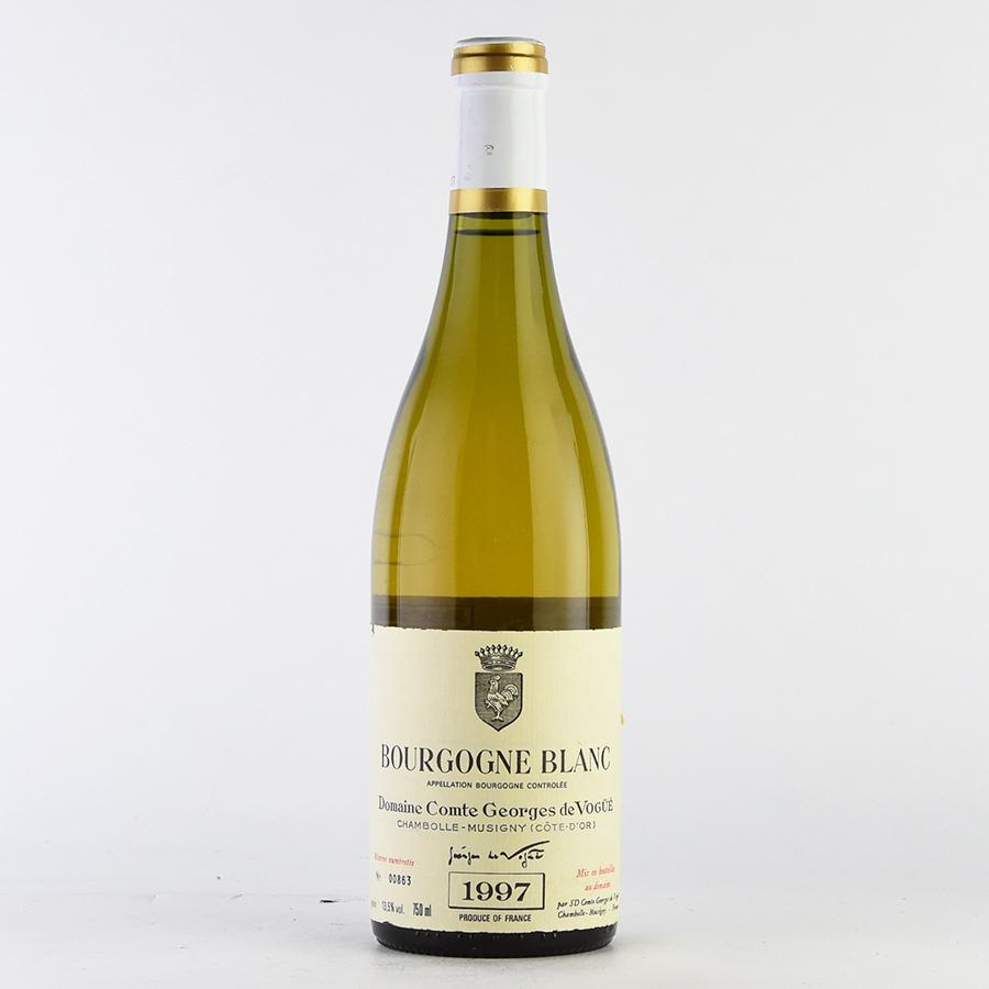 [1997] コント・ジョルジュ・ド・ヴォギュエブルゴーニュ・ブラン※ラベル不良フランス / ブルゴーニュ / 白ワイン