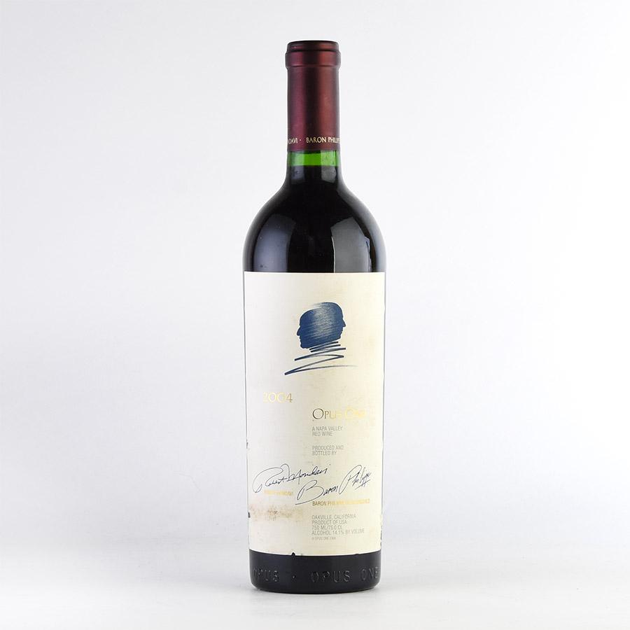 [2004] オーパス・ワン※ラベル不良アメリカ / カリフォルニア / 赤ワイン