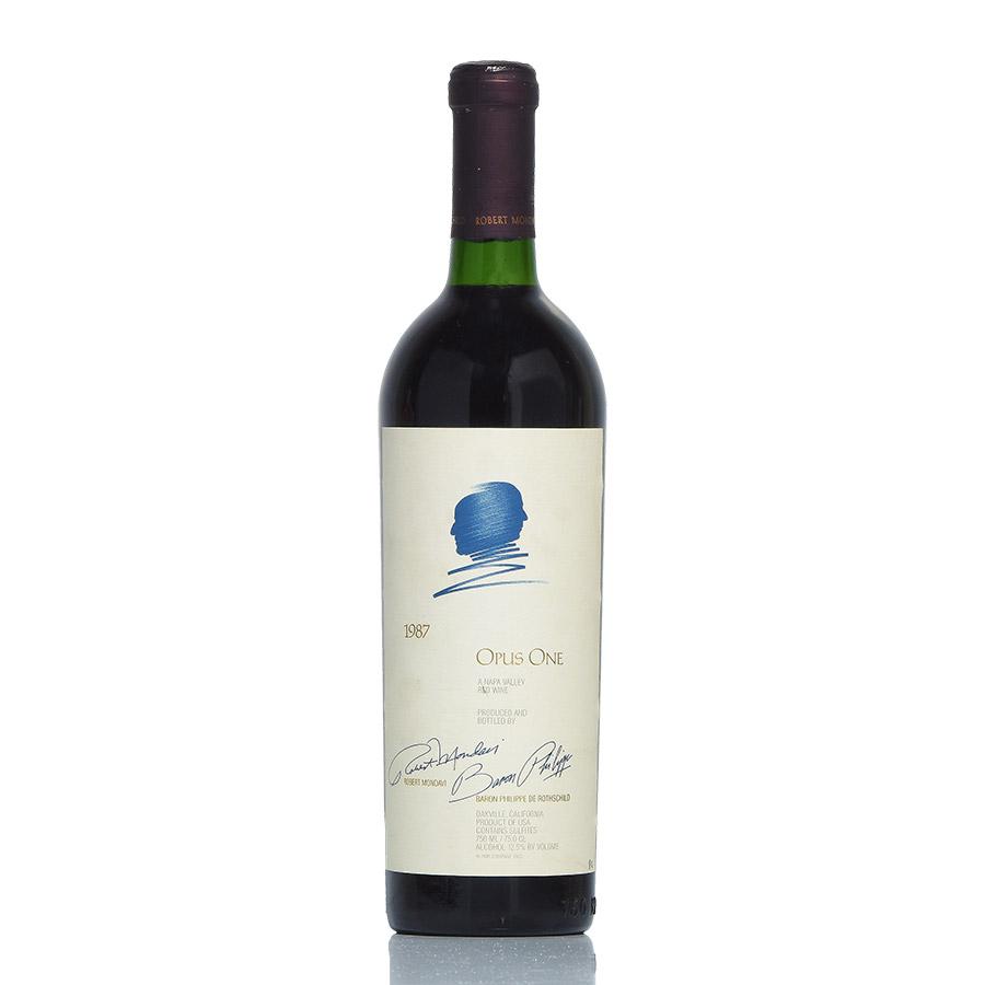 [1987] オーパス・ワンアメリカ / カリフォルニア / 赤ワイン