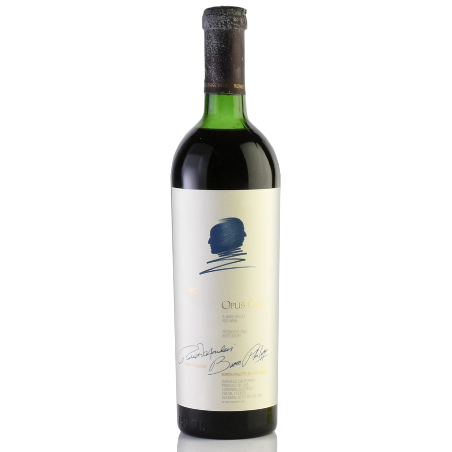 [1987] オーパス・ワン※キャップシール不良アメリカ / カリフォルニア / 赤ワイン[のこり1本]