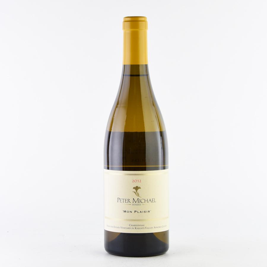 [2012] ピーター・マイケルシャルドネ モン・プレジールアメリカ / カリフォルニア / 白ワイン[のこり1本]