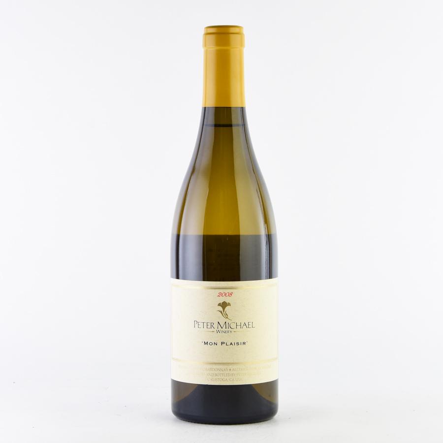[2008] ピーター・マイケルシャルドネ モン・プレジールアメリカ / カリフォルニア / 白ワイン[のこり1本]