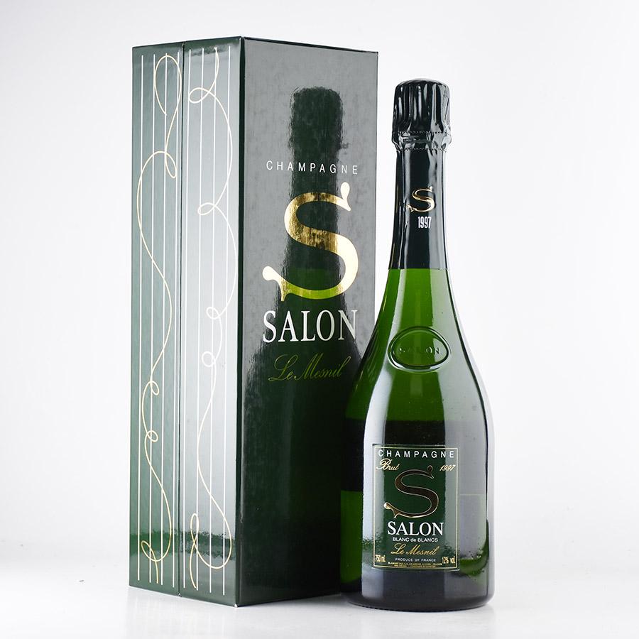 [1997] サロンブラン・ド・ブラン 【木箱入り】フランス / シャンパーニュ / 発泡系・シャンパン