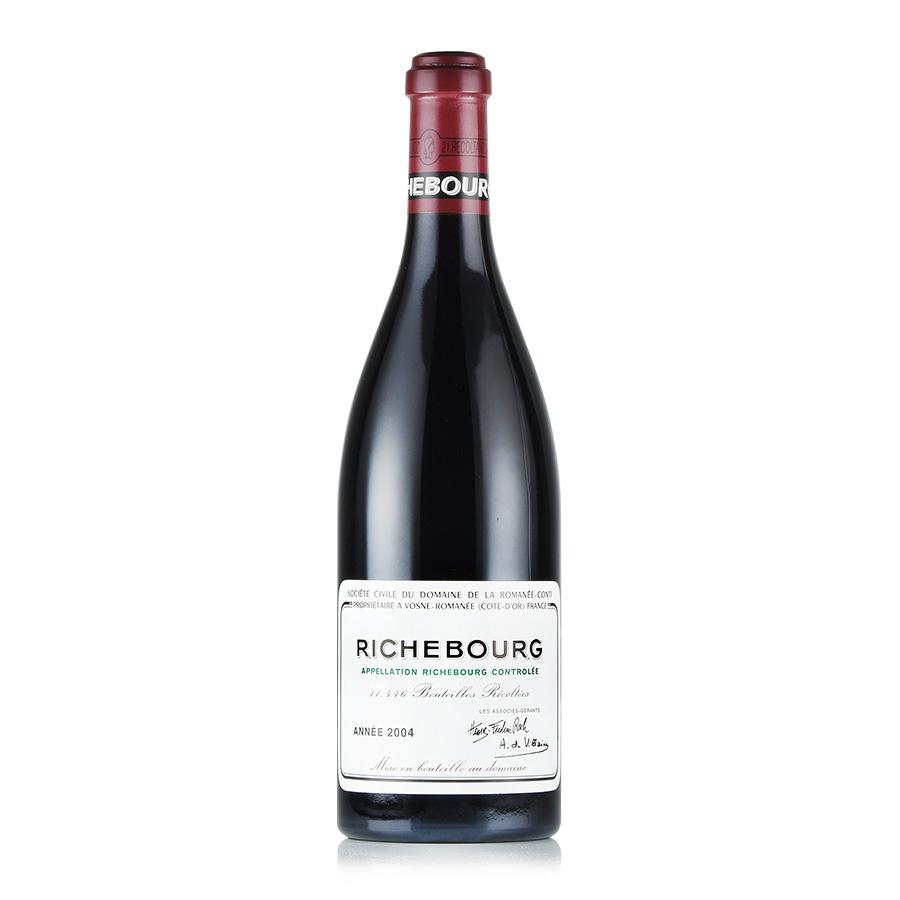 [2004] ドメーヌ・ド・ラ・ロマネ・コンティ DRCリシュブールフランス / ブルゴーニュ / 赤ワイン