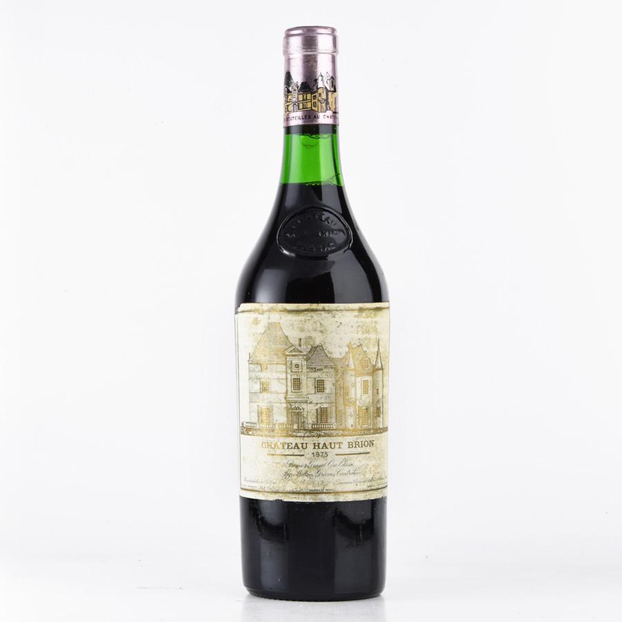 [1975] シャトー・オー・ブリオン※ラベル不良フランス / ボルドー / 赤ワイン