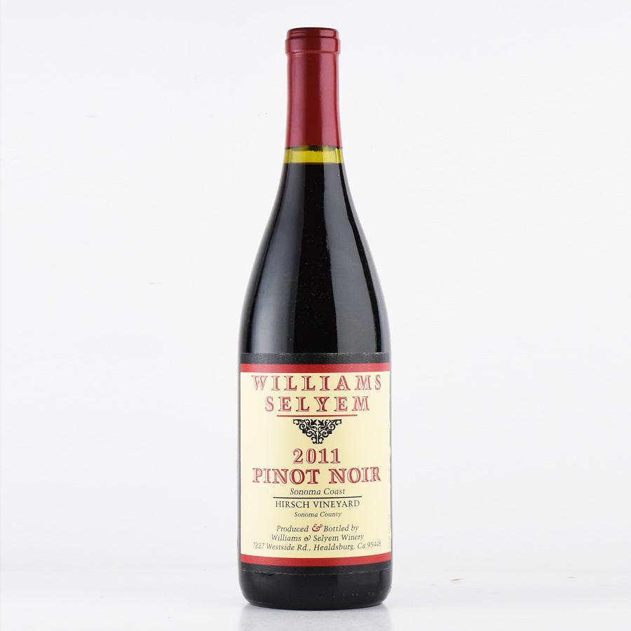 [2011] ウィリアムズ・セリエムピノ・ノワール ハーシュ・ヴィンヤードアメリカ / カリフォルニア / 赤ワイン