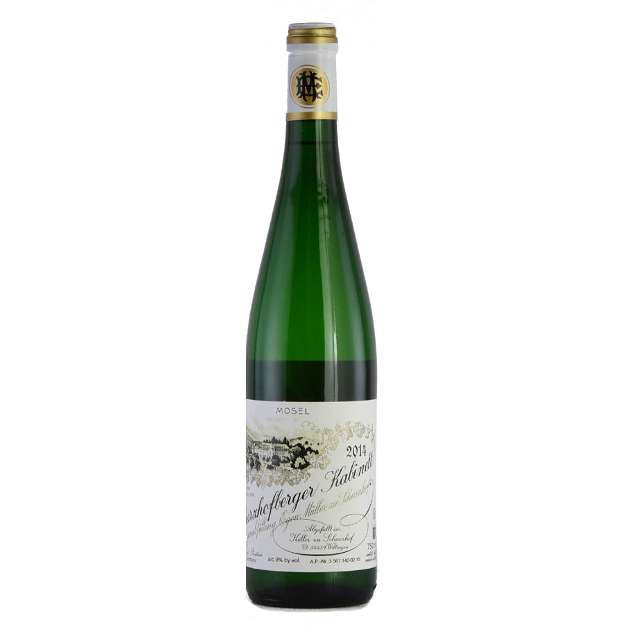 [2014] エゴン・ミュラー シャルツホーフベルガー リースリング カビネット 【自社輸入】Egon Muller Scharzhofberger Riesling Kabinett 750mlドイツ / 白ワイン