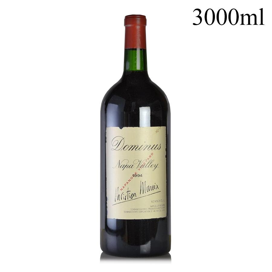 [1994] ドミナス ダブルマグナム 3000ml ※ラベル破れアメリカ / カリフォルニア / 赤ワイン[outlet][のこり1本]