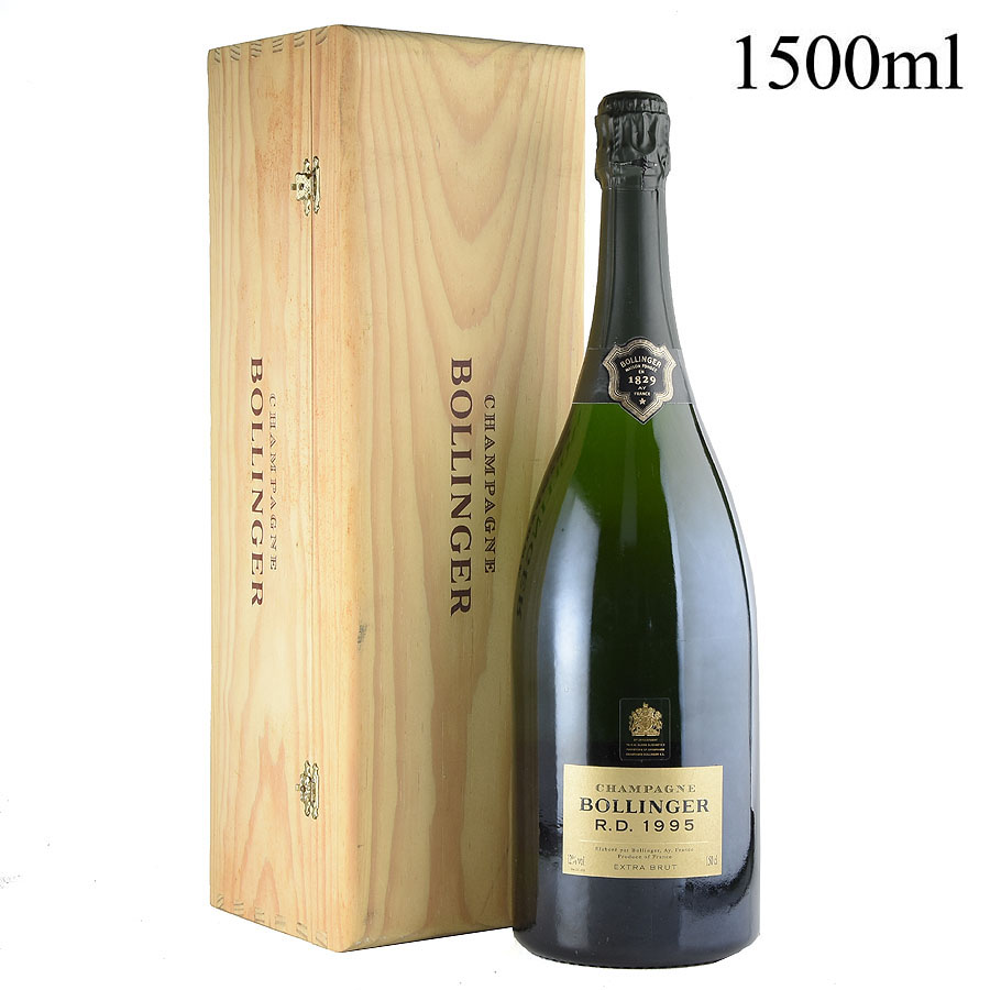 [1995] ボランジェ RD マグナム 1500mlフランス / シャンパーニュ / 発泡・シャンパン[のこり1本]