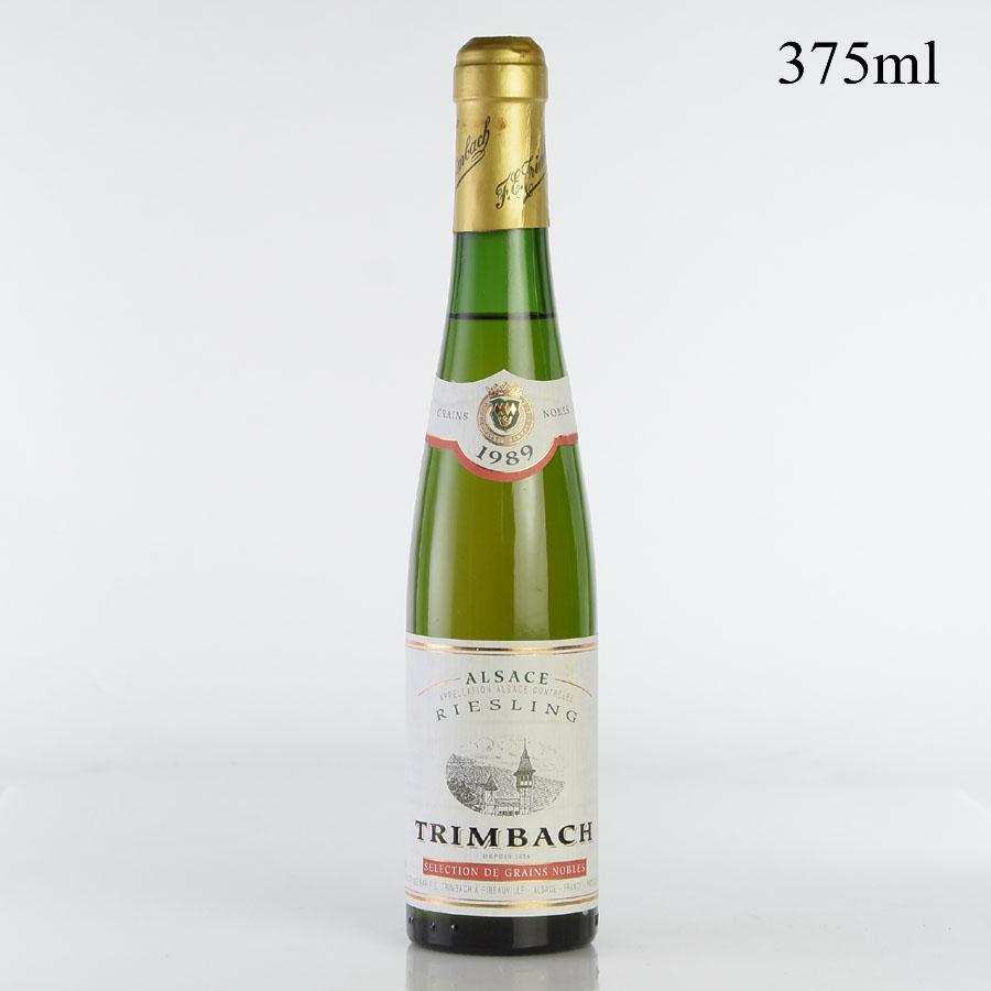 【ワインフェア】[1989] トリンバック セレクション・ド・グラン・ノーブル Fut27 リースリング ハーフ 375mlフランス / アルザス / 白ワイン