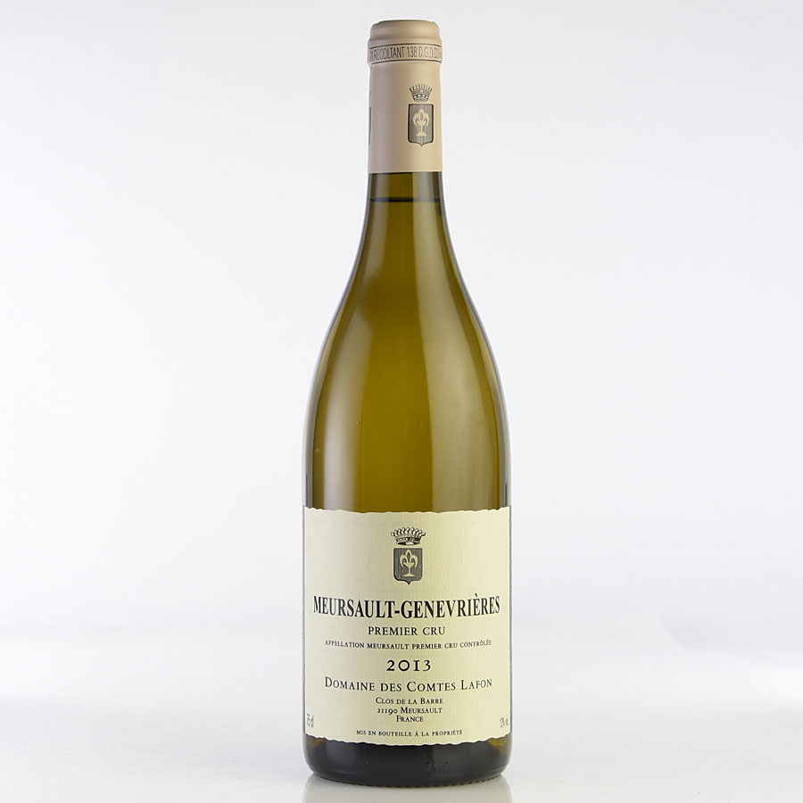 [2013] コント・ラフォン ムルソー・ジュヌヴリエールフランス / ブルゴーニュ / 白ワイン