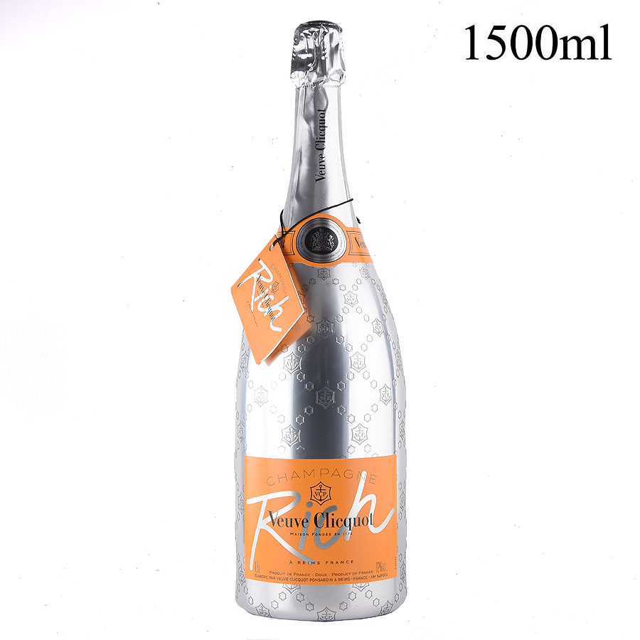 NV ヴーヴ・クリコ リッチ マグナム 1500mlフランス / シャンパーニュ / 発泡・シャンパン