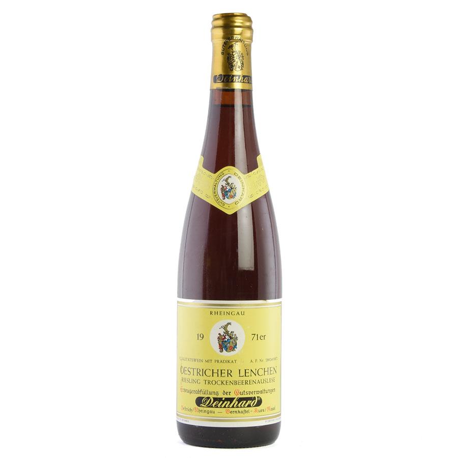 [1971] ダインハルト エストリッヒャー・レンヒェン・リースリング トロッケンベーレンアウスレーゼドイツ / 白ワイン