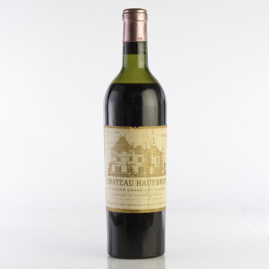 [1952] シャトー・オー・ブリオン ※ラべル汚れフランス / ボルドー / 赤ワイン