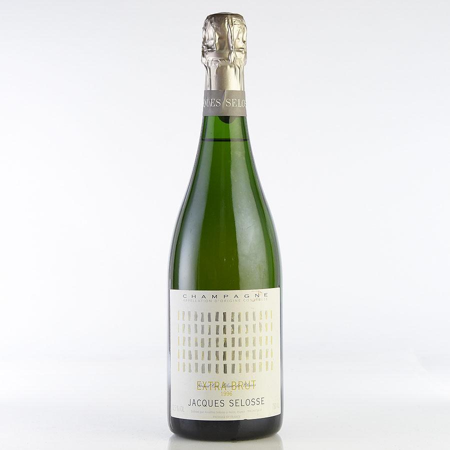 [1996] ジャック・セロス ミレジムフランス / シャンパーニュ / 発泡・シャンパン[のこり1本]