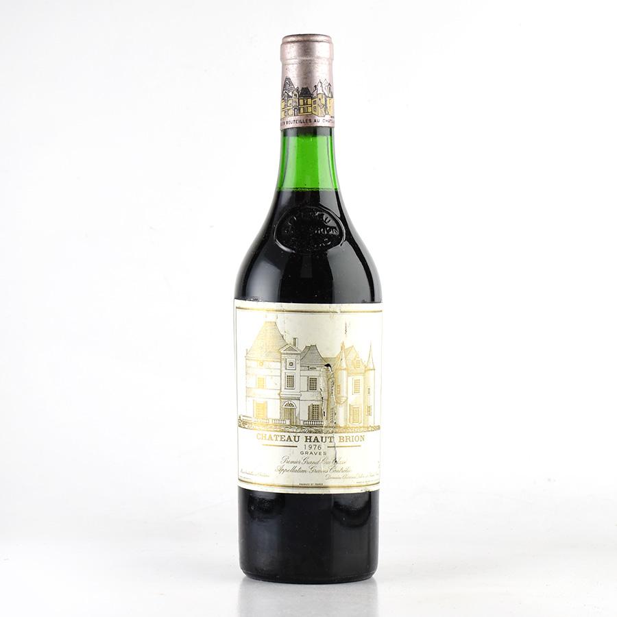 [1976] シャトー・オー・ブリオン※ラベル不良フランス / ボルドー / 赤ワイン
