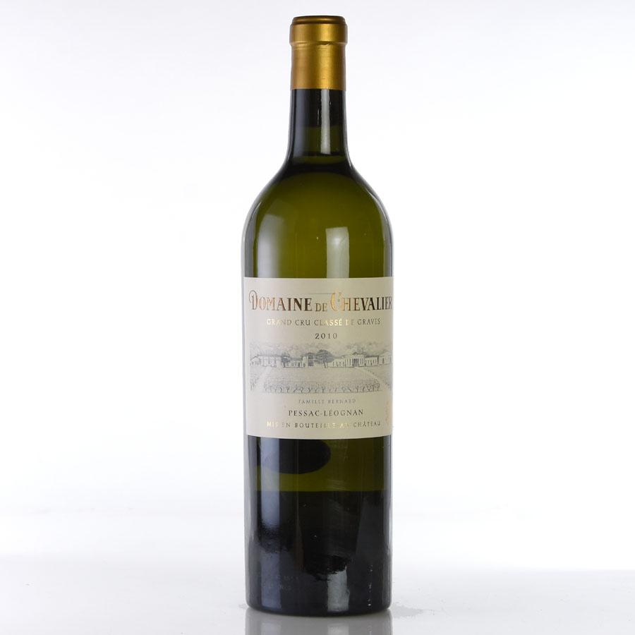 [2010] ドメーヌ・ド・シュヴァリエ・ブランフランス / ボルドー / 白ワイン[のこり1本]
