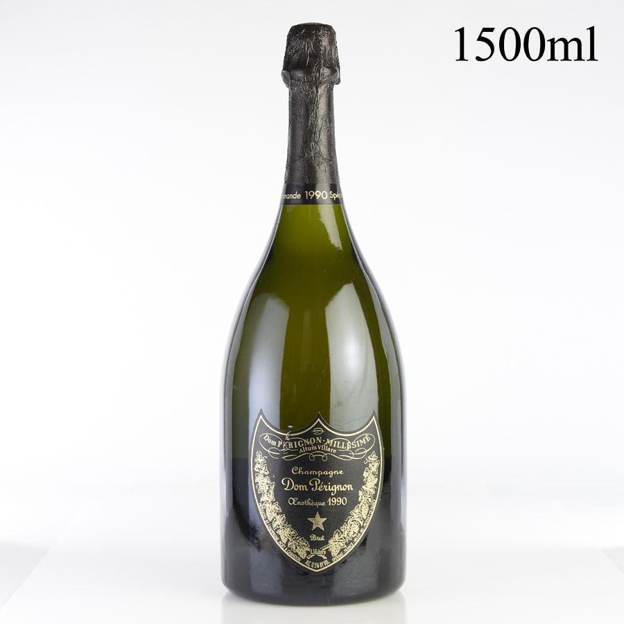 [1990] ドン・ペリニヨン エノテーク マグナム 1500ml 【箱なし】フランス / シャンパーニュ / 発泡系・シャンパン[のこり1本]