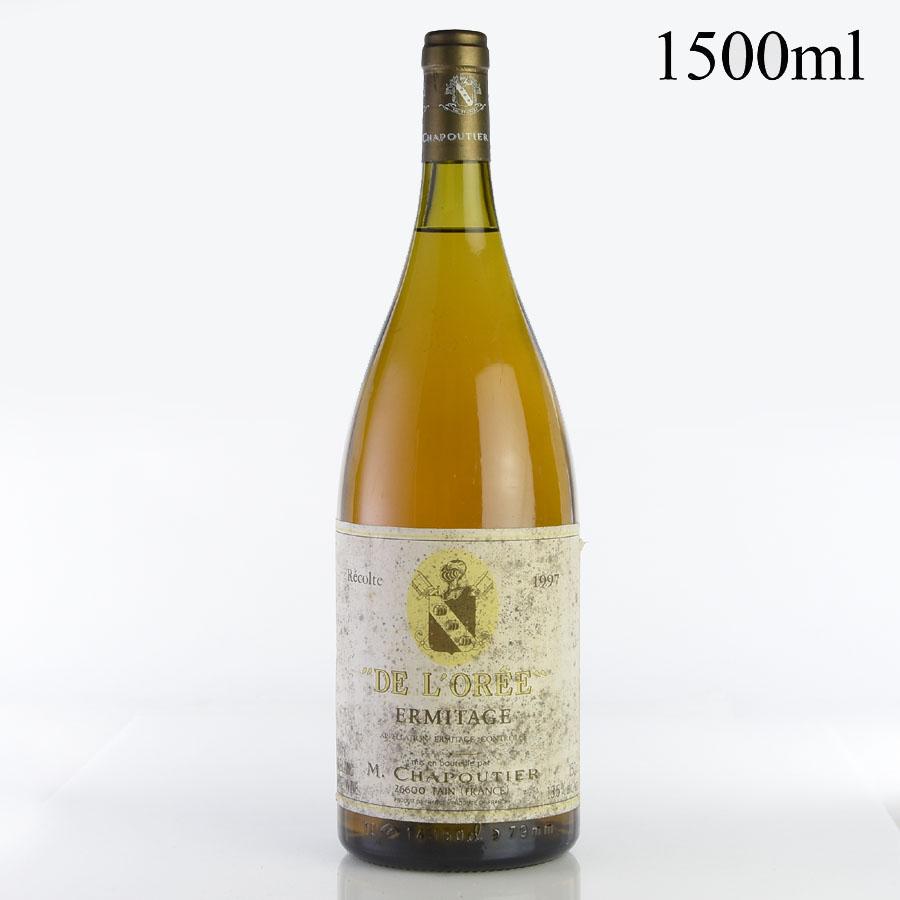 [1997] シャプティエ エルミタージュ ブラン・ド・ロレ マグナム 1500ml ※ラベル汚れフランス / ローヌ / 白ワイン[outlet]