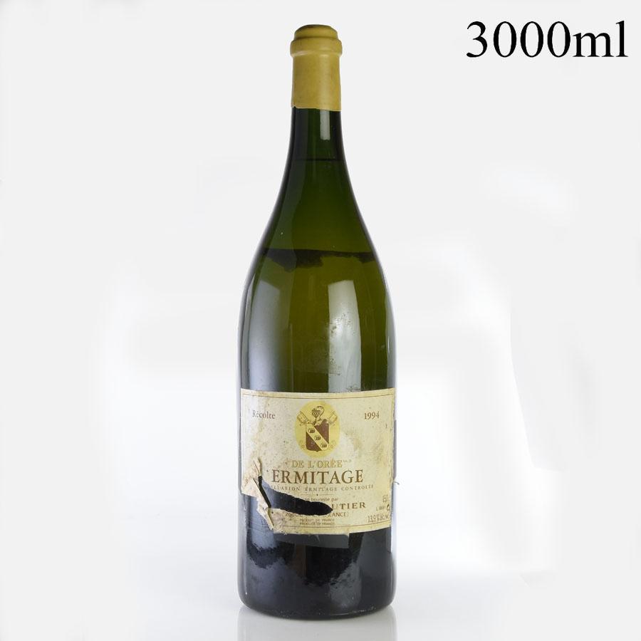 [1994] シャプティエ エルミタージュ ブラン・ド・ロレ ダブルマグナム 3000ml ※ラベル汚れ・破れ、ラベル表記ミスフランス / ローヌ / 白ワイン[のこり1本]