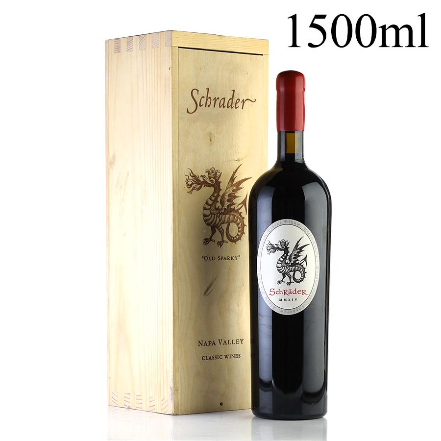 [2014] シュレイダー カベルネ・ソーヴィニヨン オールド・スパーキィ マグナム 1500ml 【木箱入り】アメリカ / カリフォルニア / 赤ワイン