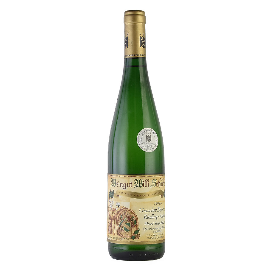 [1999] ヴィリ・シェーファー グラーヒャー ドムプロブスト リースリング アウスレーゼ A.P #09ドイツ / 白ワイン /