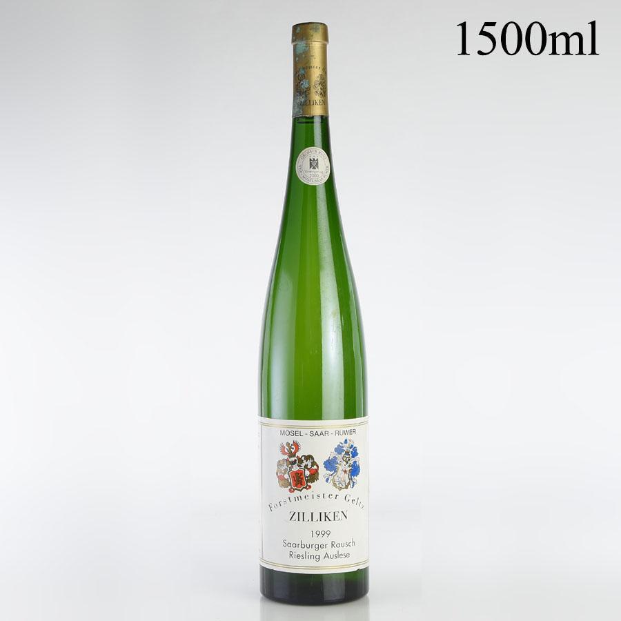[1999] ツィリケン ザールブルガー ラウシュ リースリング アウスレーゼ ゴールドカプセル A.P #1 マグナム 1500ml ※キャップシール腐食ドイツ / 白ワイン /[outlet][のこり1本]