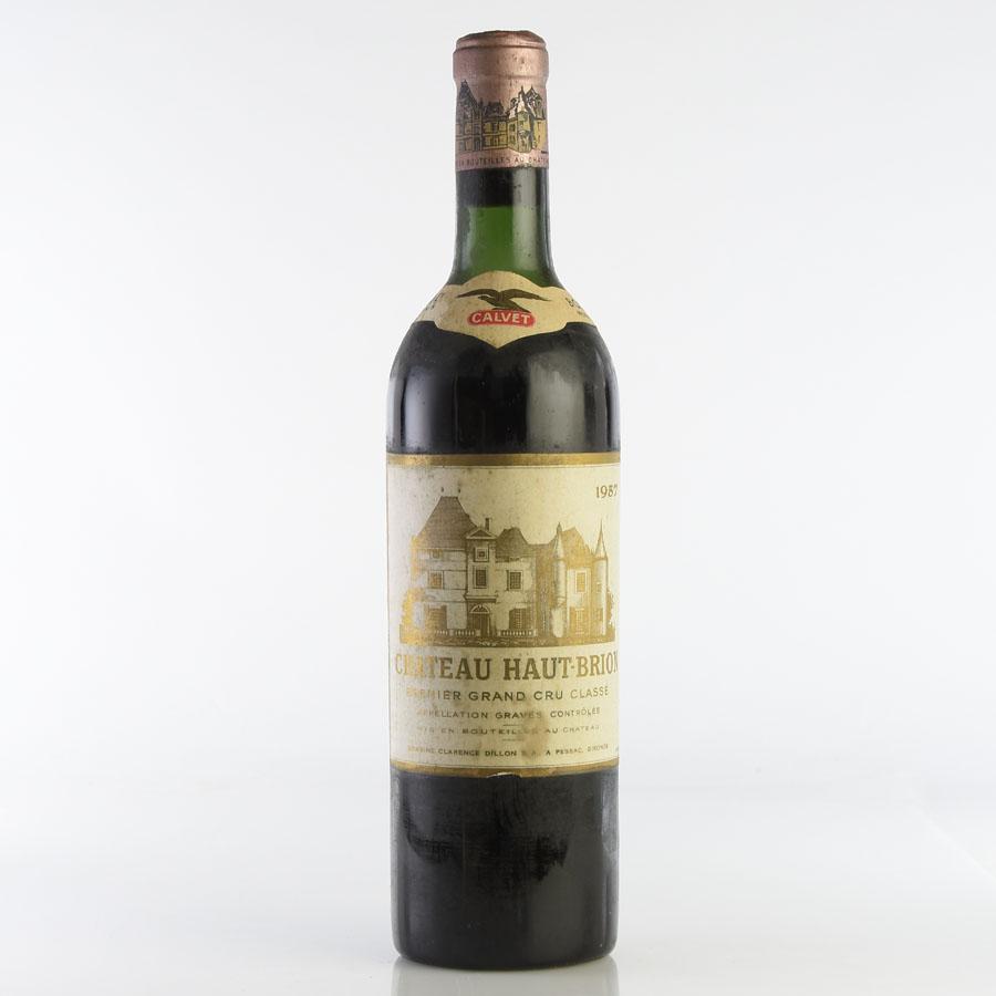 [1957] シャトー・オー・ブリオン ※ラベル汚れフランス / ボルドー / 赤ワイン[outlet][のこり1本]