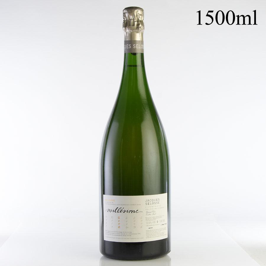 [2002] ジャック・セロス ミレジム マグナム 1500mlフランス / シャンパーニュ / 発泡系・シャンパン