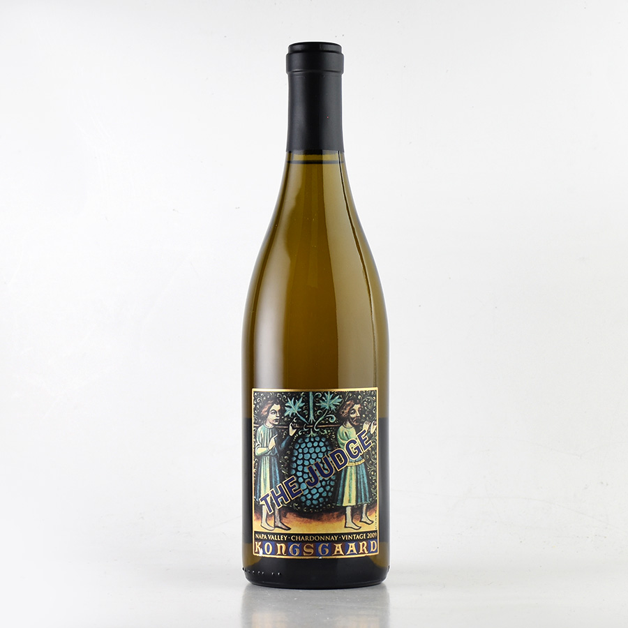 【新入荷★特別価格】[2009] コングスガードシャルドネ ザ・ジャッジ※ラベル不良アメリカ / カリフォルニア / 白ワイン
