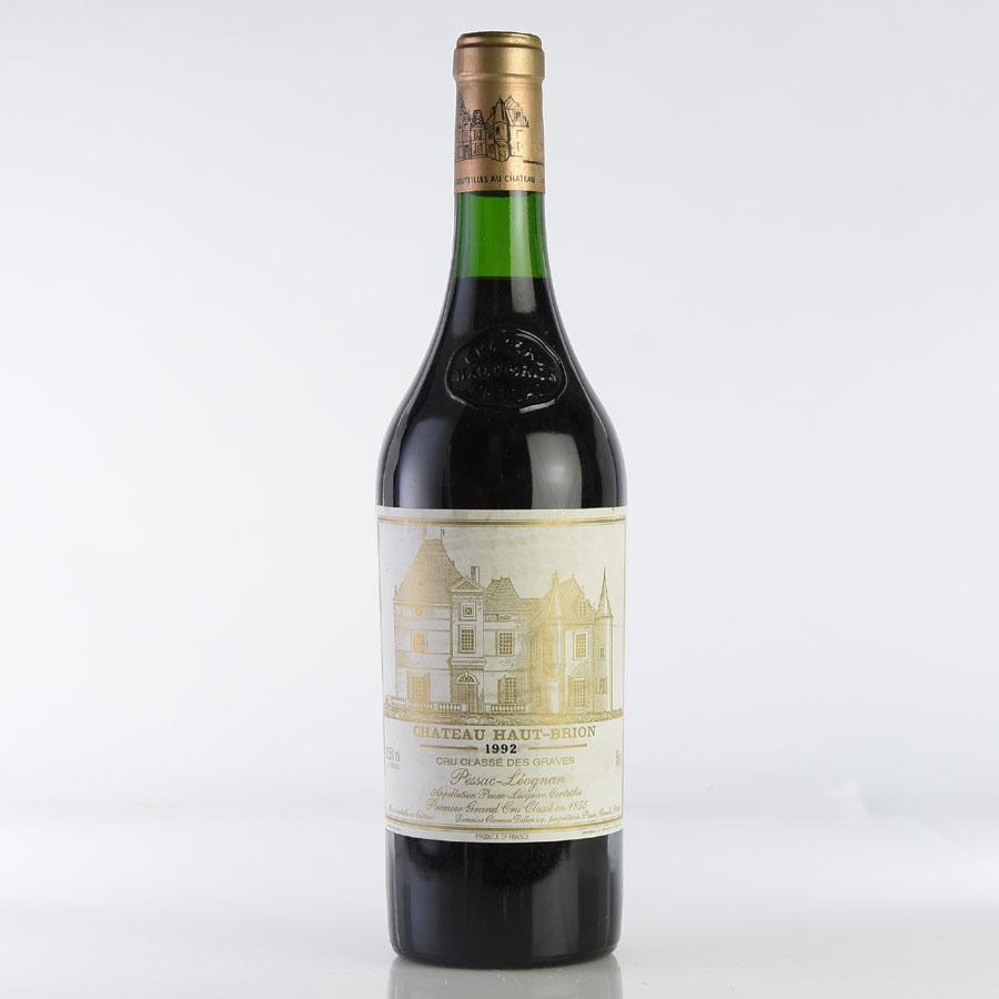 [1992] シャトー・オー・ブリオン ※ラベル汚れ、擦れフランス / ボルドー / 赤ワイン