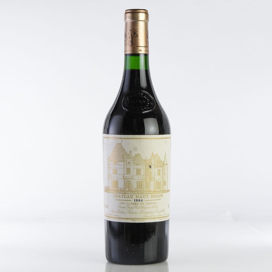 [1986] シャトー・オー・ブリオン ※ラベル汚れ、キズフランス / ボルドー / 赤ワイン[outlet][のこり1本]