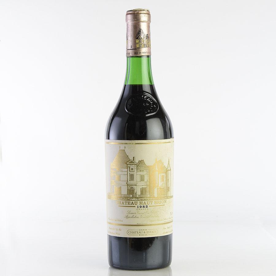 [1982] シャトー・オー・ブリオン ※ラベル退色・汚れ・擦れフランス / ボルドー / 赤ワイン[のこり1本]