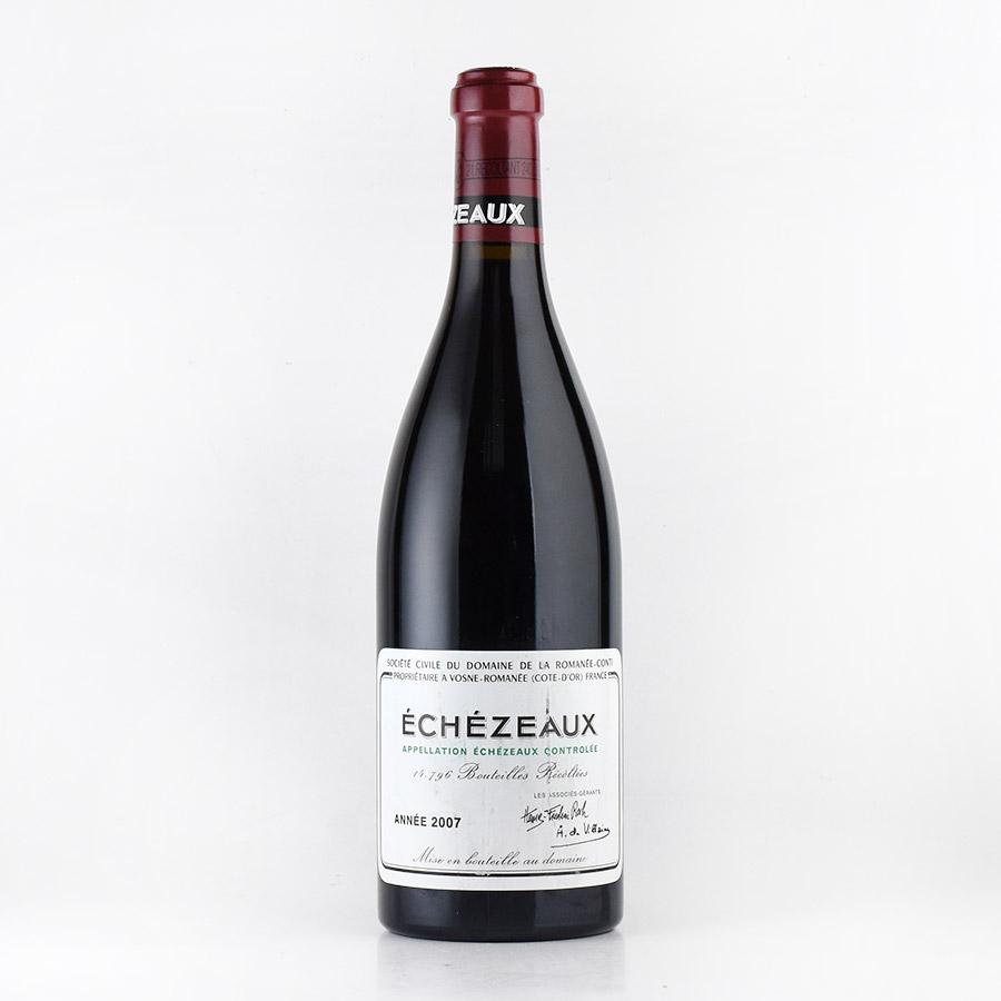 [2007] ドメーヌ・ド・ラ・ロマネ・コンティ DRCエシェゾーフランス / ブルゴーニュ / 赤ワイン[のこり1本]