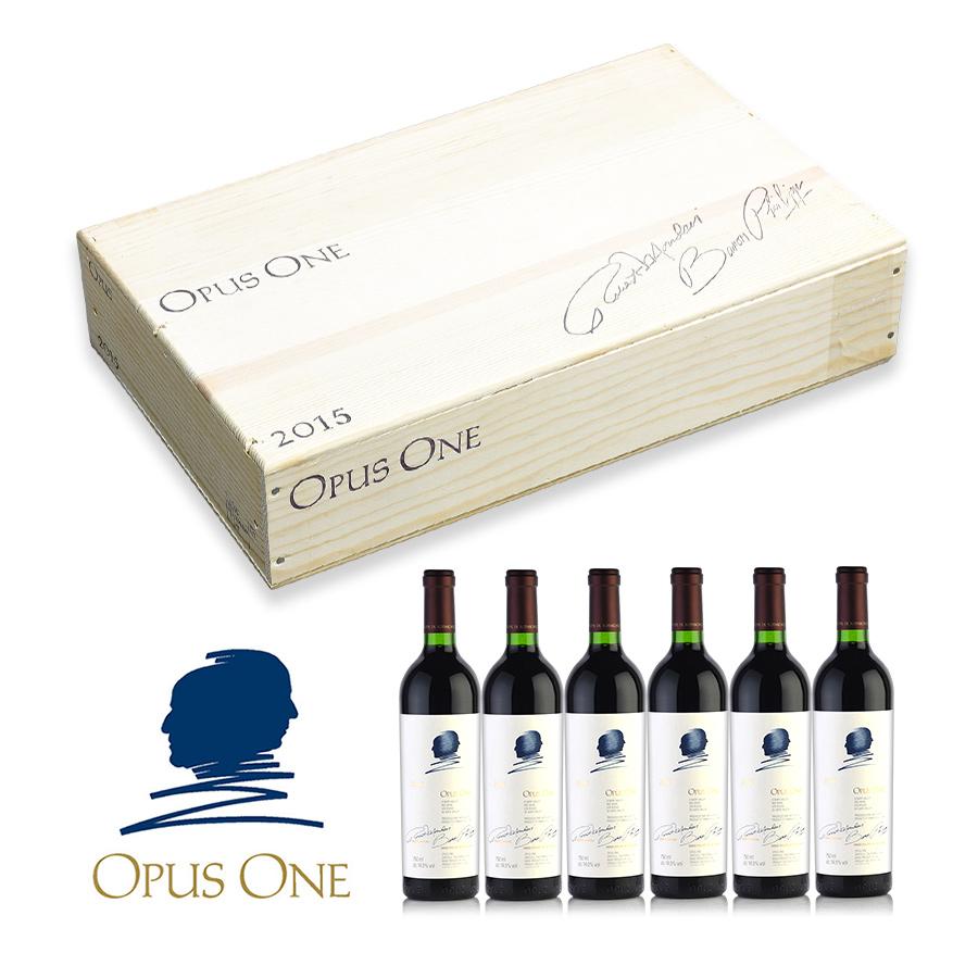 【パーカーポイント 97+点】 【送料無料】2015 オーパス・ワン 1ケース【6本】【ワインセット】アメリカ / カリフォルニア / 赤ワイン