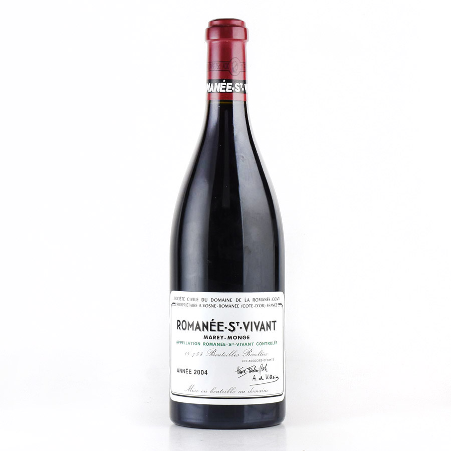 [2004] ドメーヌ・ド・ラ・ロマネ・コンティ DRCロマネ・サン・ヴィヴァンフランス / ブルゴーニュ / 赤ワイン