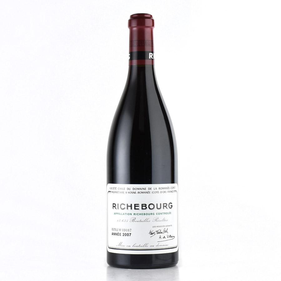 [2007] ドメーヌ・ド・ラ・ロマネ・コンティ DRCリシュブールフランス / ブルゴーニュ / 赤ワイン