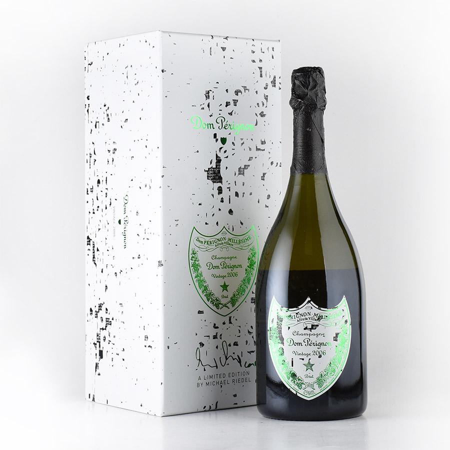 【新入荷★特別価格】[2006] ドン・ペリニヨンミハエル・リーデル 【ギフトボックス】フランス / シャンパーニュ / 発泡系・シャンパン[のこり1本]