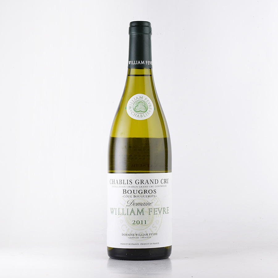 【新入荷★特別価格】[2011] ウィリアム・フェーヴルシャブリ ブーグロフランス / ブルゴーニュ / 白ワイン
