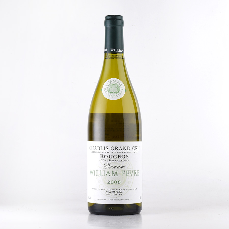 【新入荷★特別価格】[2008] ウィリアム・フェーヴルシャブリ ブーグロフランス / ブルゴーニュ / 白ワイン