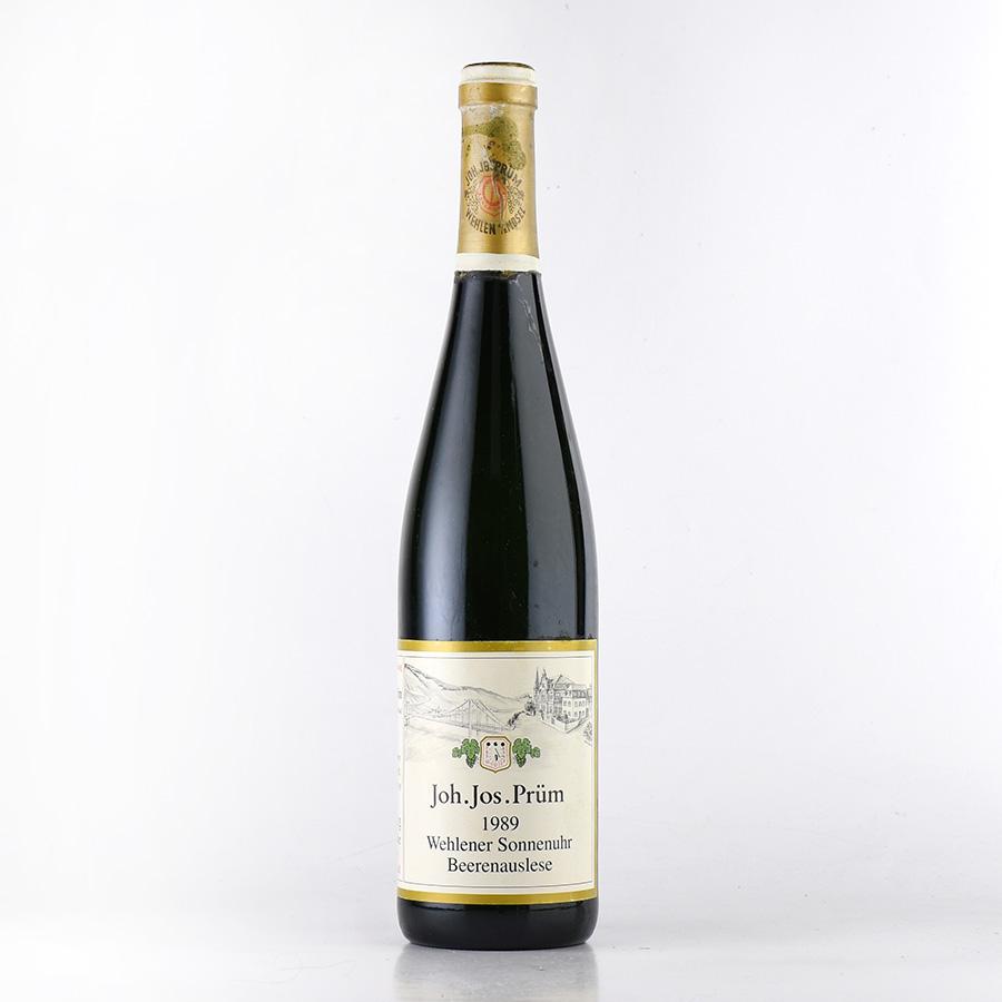 【新入荷★特別価格】[1989] ヨハン・ヨゼフ・プリュムヴェレナー ゾンネンウーア リースリング ベーレンアウスレーゼドイツ / 白ワイン