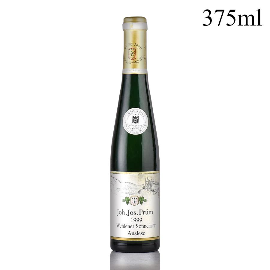 【新入荷★特別価格】[1999] ヨハン・ヨゼフ・プリュムヴェレナー ゾンネンウーア リースリング アウスレーゼ 【ゴールドカプセル】 ハーフ 375mlドイツ / 白ワイン