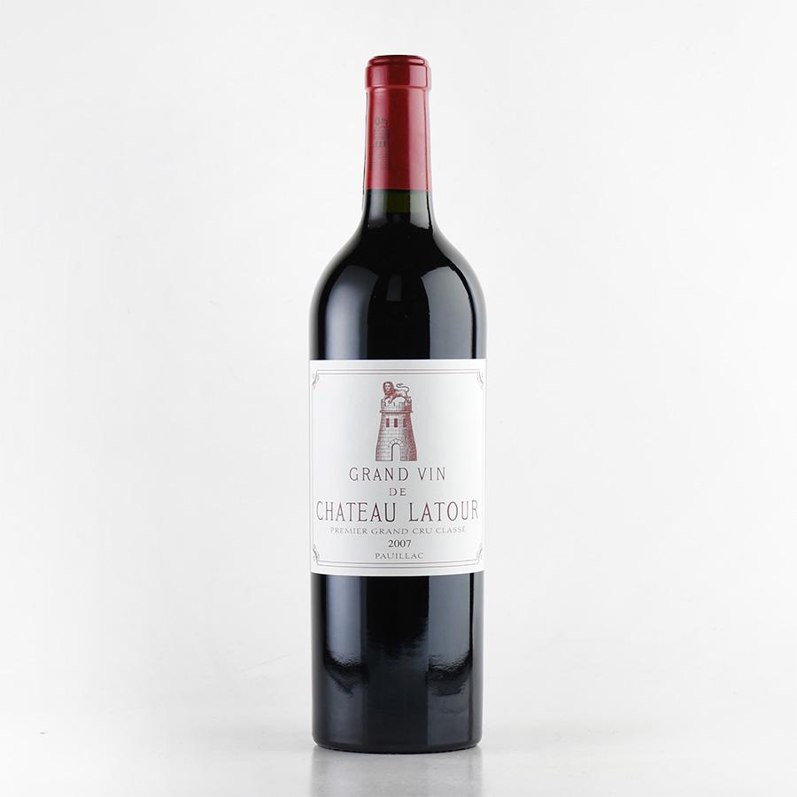 【新入荷★特別価格】[2007] シャトー・ラトゥールフランス / ボルドー / 赤ワイン