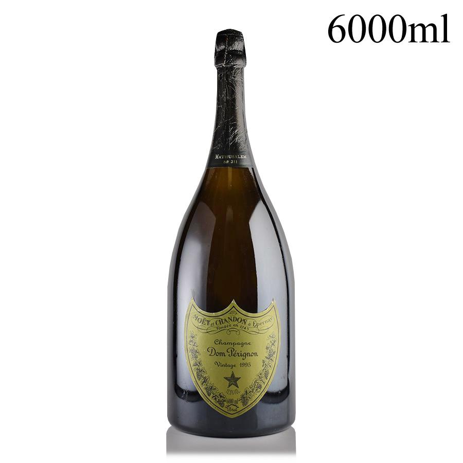 【新入荷★特別価格】[1995] ドン・ペリニヨンヴィンテージ マチュザレム 6000mlフランス / シャンパーニュ / 発泡系・シャンパン[のこり1本]
