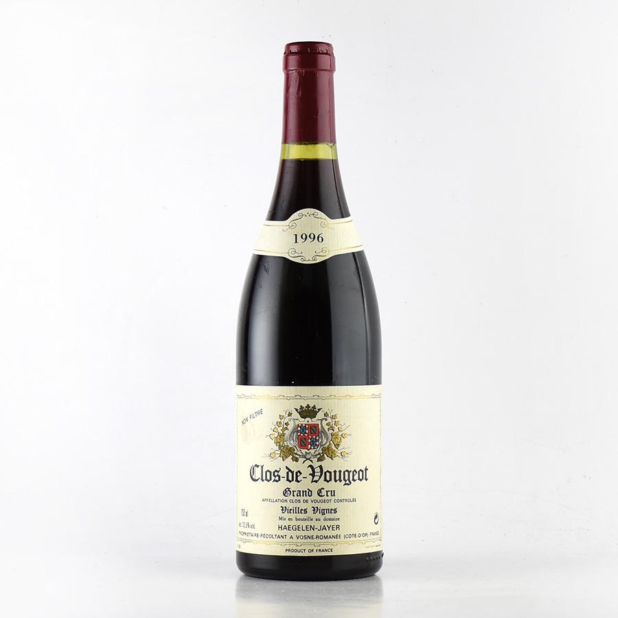 【新入荷★特別価格】[1996] エジュラン・ジャイエクロ・ド・ヴージョフランス / ブルゴーニュ / 赤ワイン