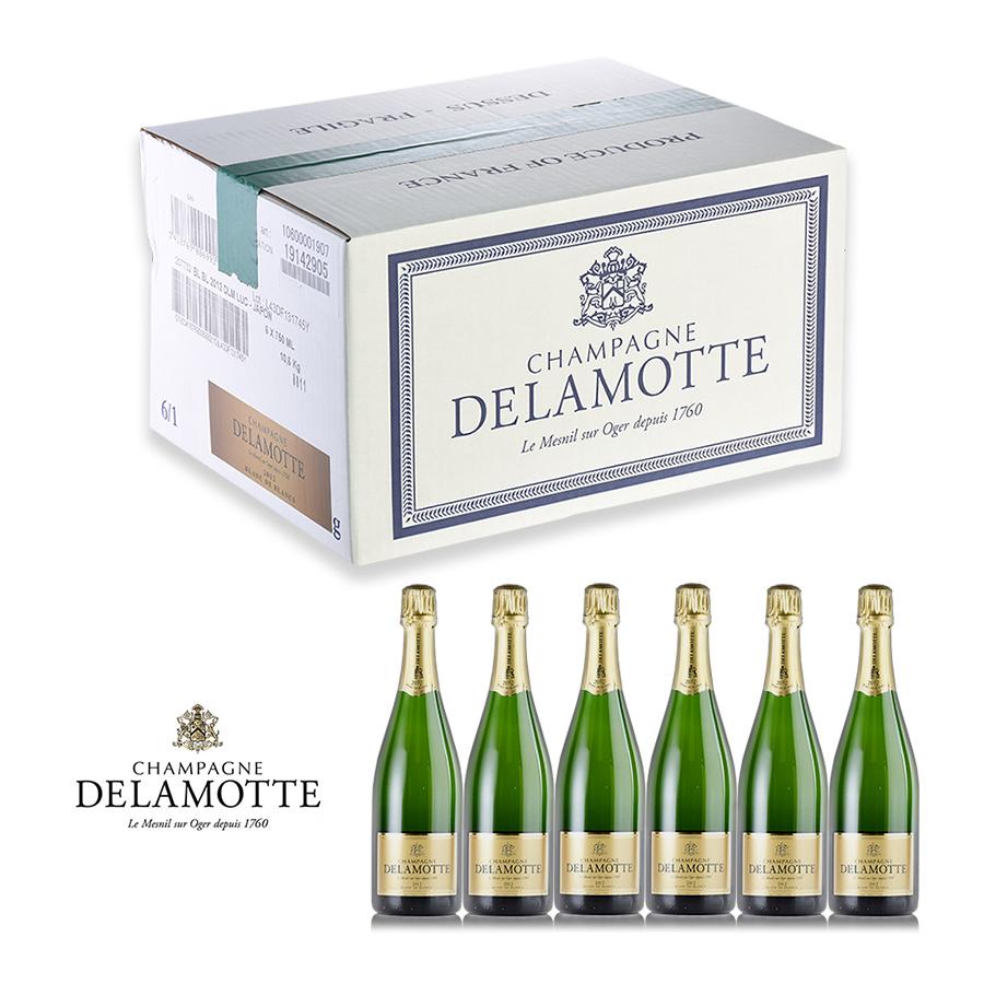 【新入荷★特別価格】[2008] ドゥラモットブラン・ド・ブラン 1ケース【6本】フランス / シャンパーニュ / 発泡系・シャンパン