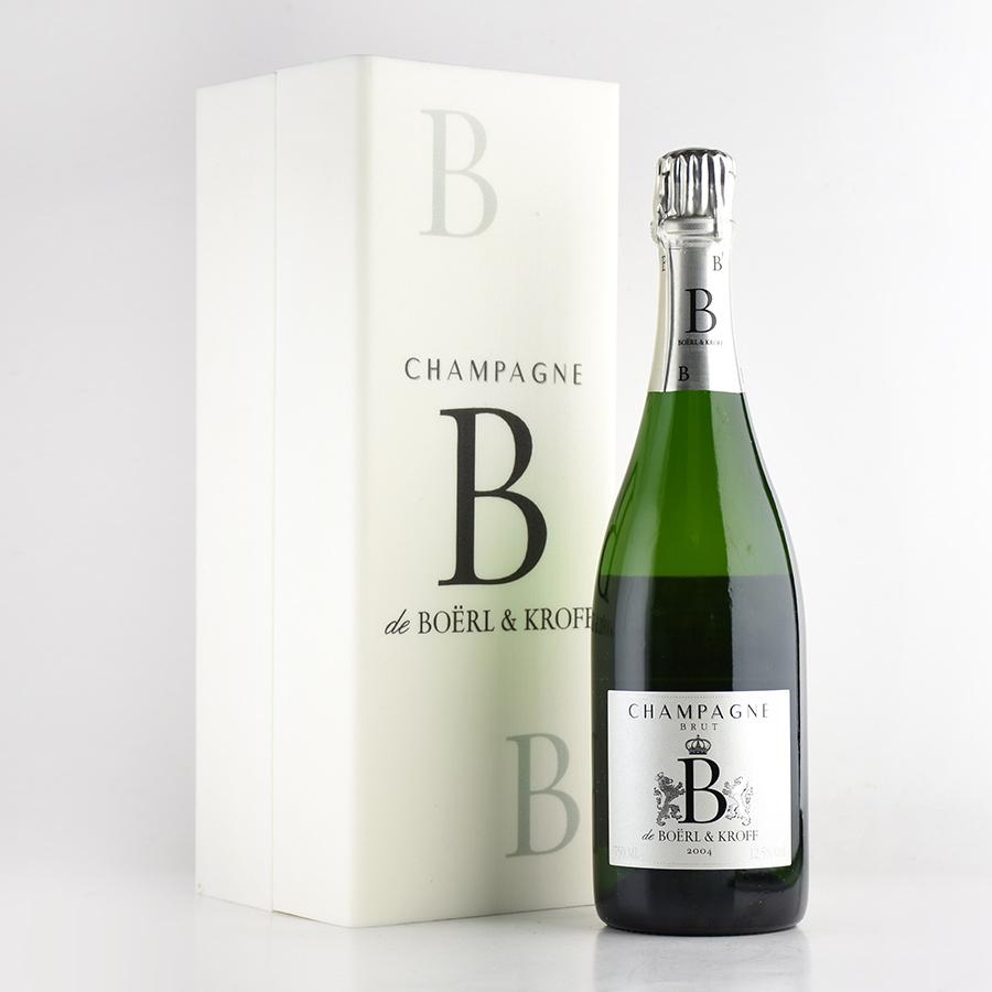 2004 ボエル&クロフB 【ギフトボックス】フランス / シャンパーニュ / 発泡系・シャンパン