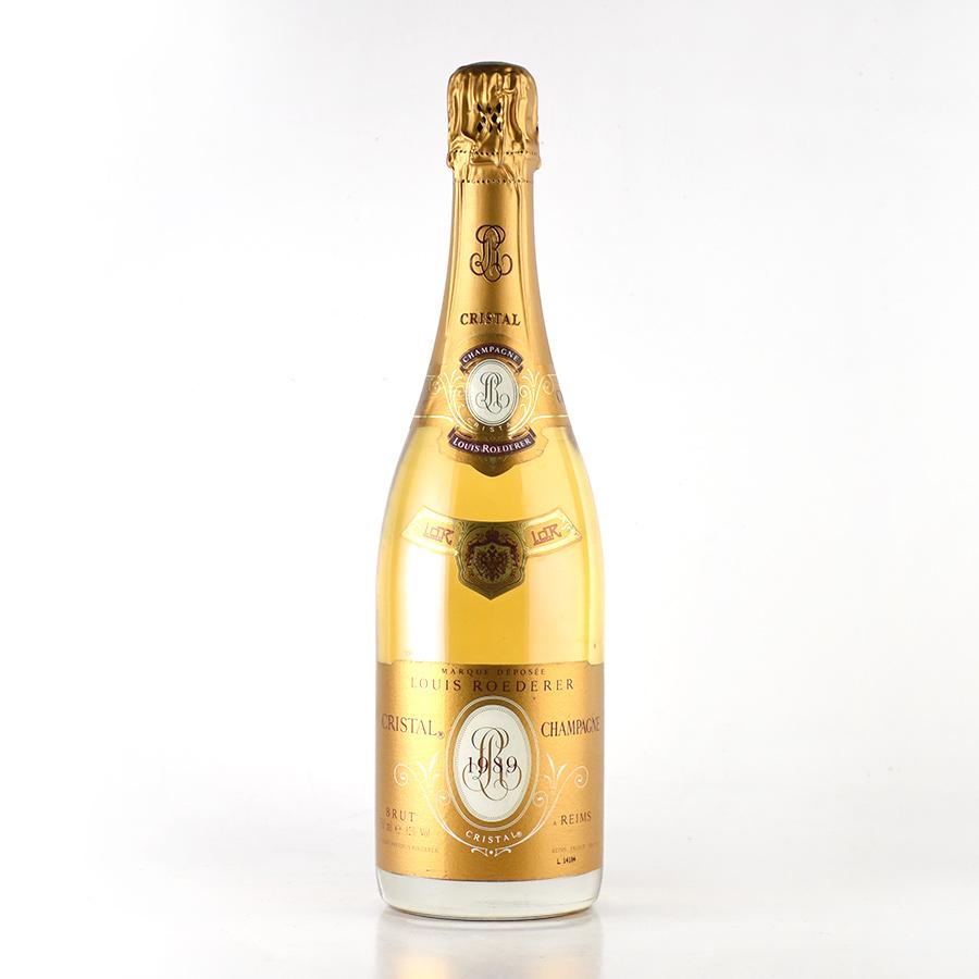 ルイ ロデレール クリスタル 1989 ルイロデレール ルイ・ロデレール シャンパン シャンパーニュ