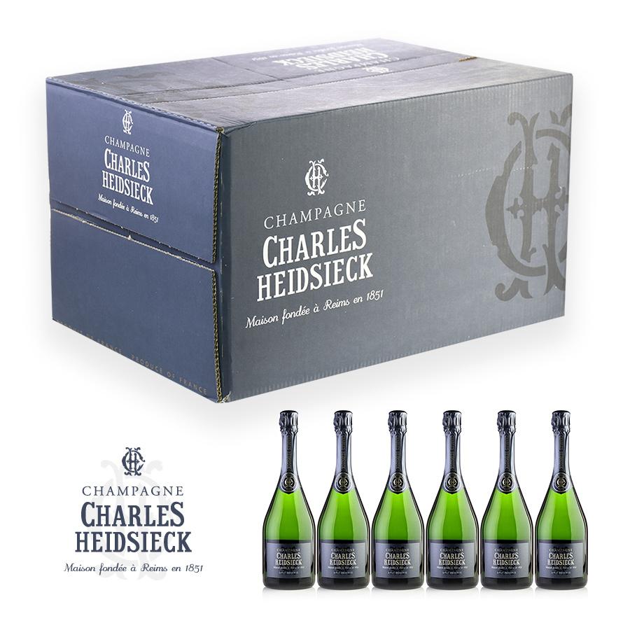NV シャルル・エドシックブリュット・レゼルヴ 6本セットフランス / シャンパーニュ / 発泡系・シャンパン